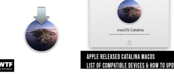 Apple-catalina-compatible devices and how to install