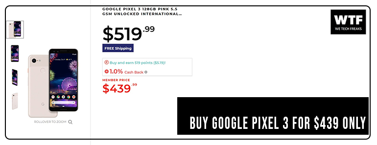 Google-pixel-3-on-discounted-rate