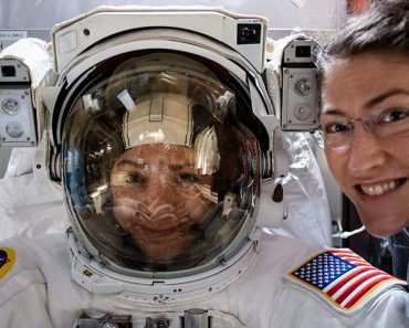 NASA's first-woman spacewalk