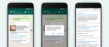 WhatsApp pilots new feature to fight misinformation: Search the web