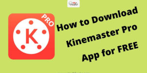 Download Kinemaster Pro APK without watermark