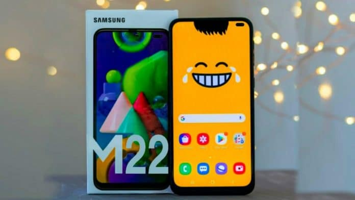 Samsung Galaxy M22 with Helio G80 chipset appears on Geekbench