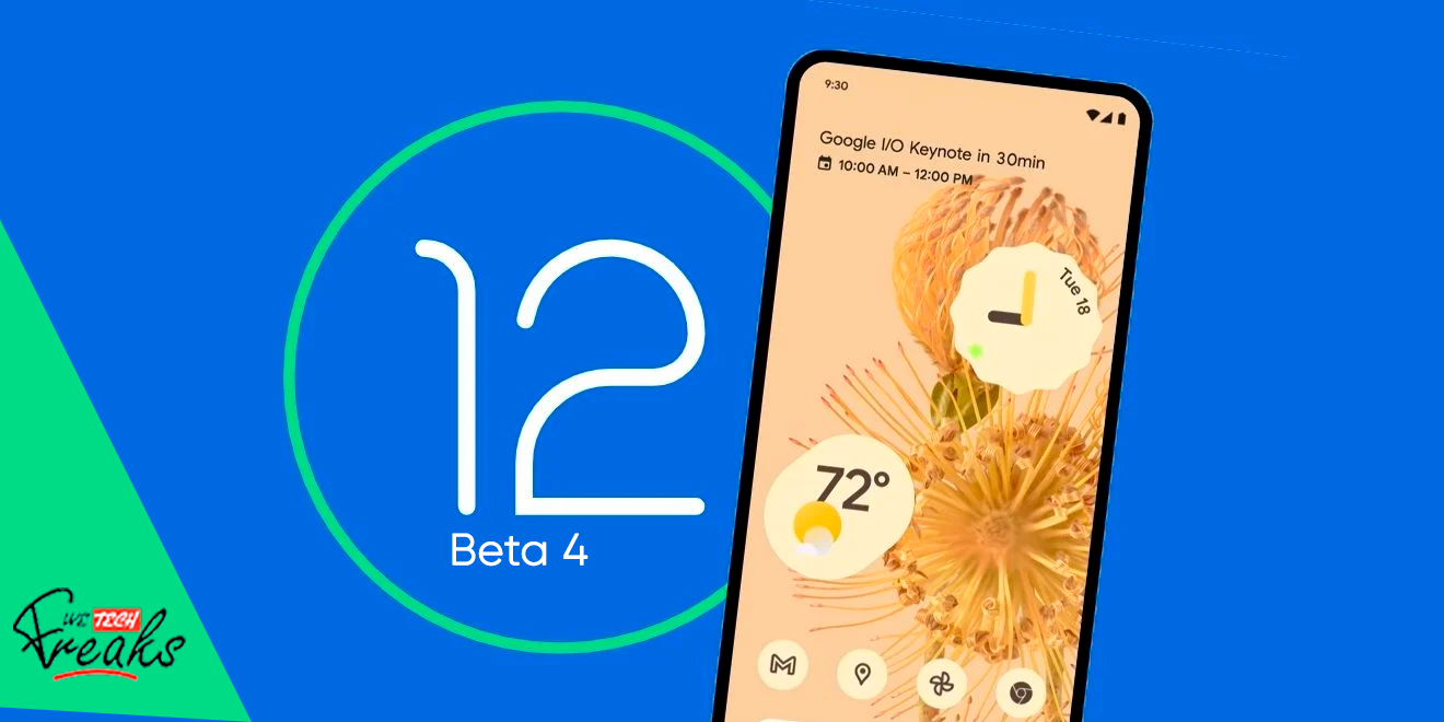 Download-Android-12-Beta-4--Compatible-devices-featues